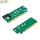 NGFF M.2 B key to PCI-E PCIe 1X/4X/8X/16X Adapter Card for 2230/2242/2260/2280 type SSD