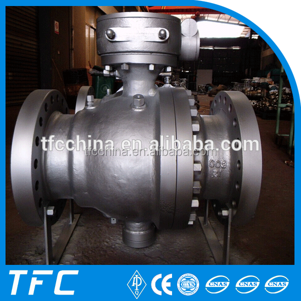 Manufacture A216 WCB 3 pcs stainless steel 316 ball valve