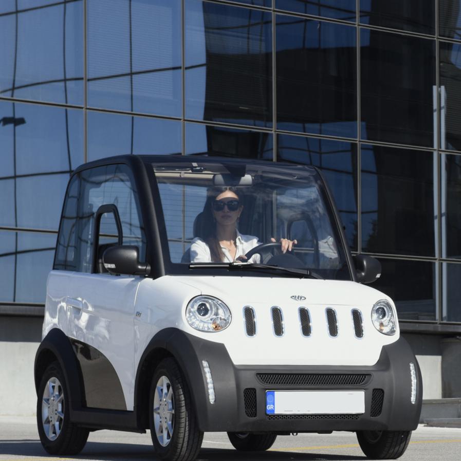 2 Seater Eec L6e L7e Certificate Electric Mini Cars 4 Wheel Right And Left Hand Drive