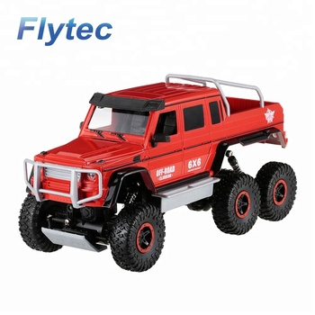 Flytec 699 - 118 2.4Ghz High Speed Radio Remote Control Toys RC Cars Diecast Off road Vehicle with 80 Meter RC Car Toy RTR (Red)