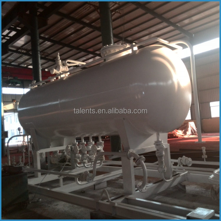 20m3 mobile lpg station, 1.77Mpa lpg gas tank, lpg gas equipment