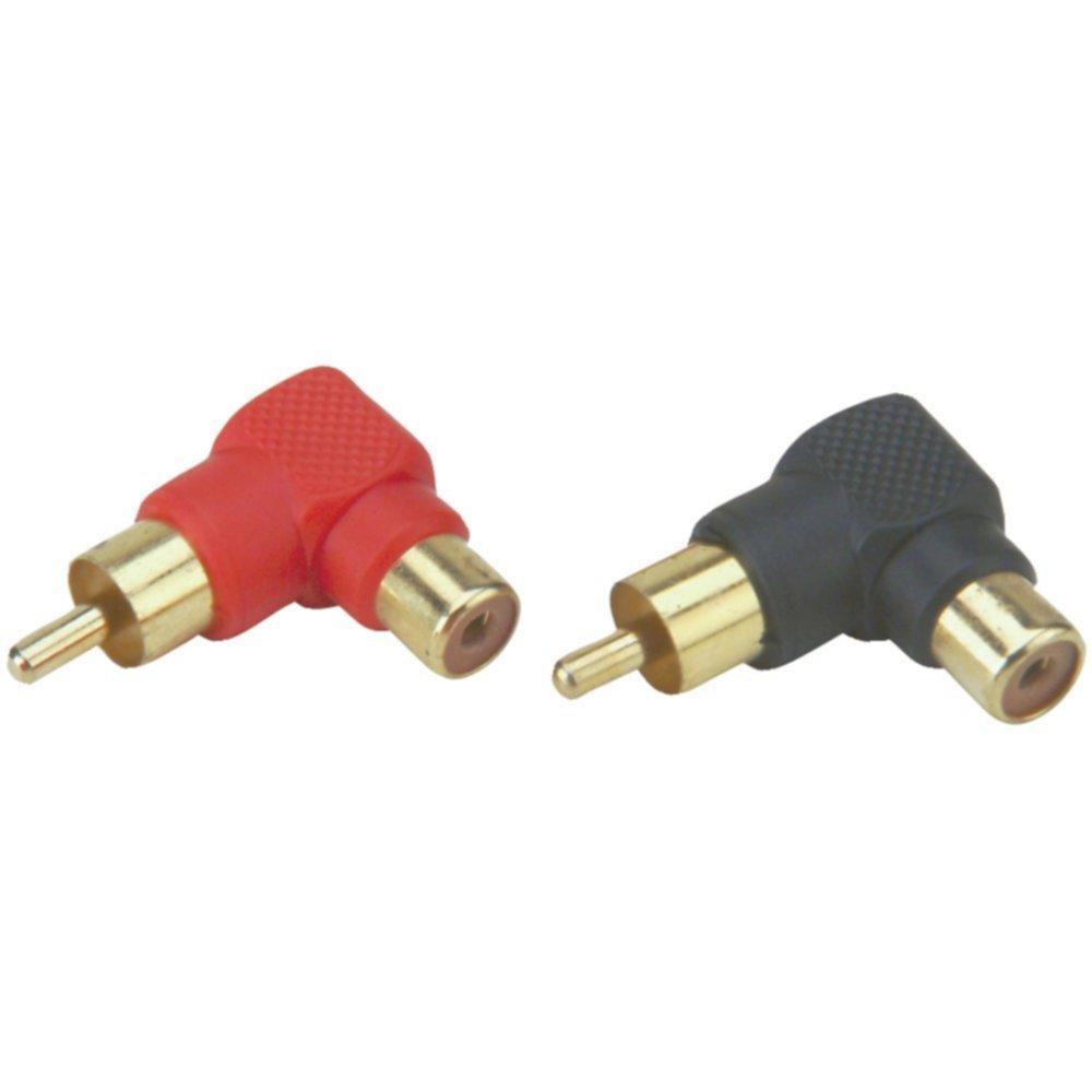 Install Bay RCAMRA-10 10-Pack Mini Right Angle RCA-Barrel Connectors Consumer Electronics Accessories