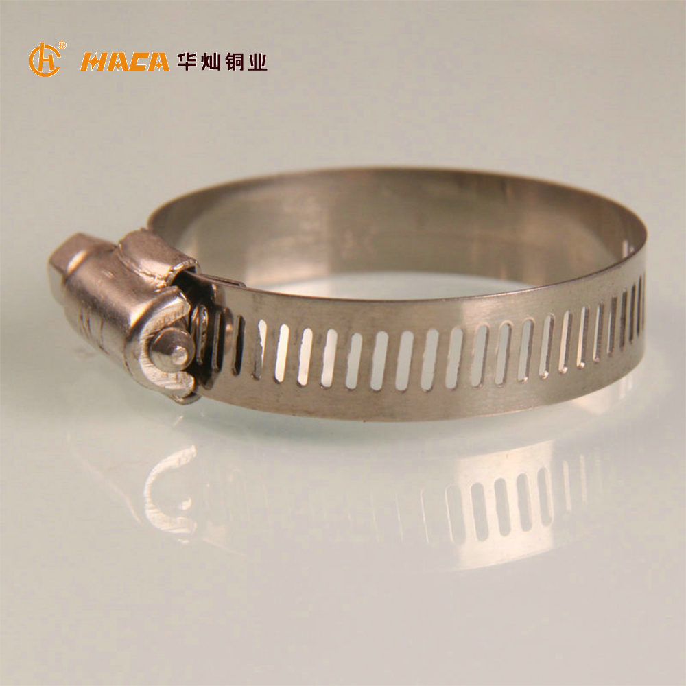 stainless steel quick release large hose clamp
