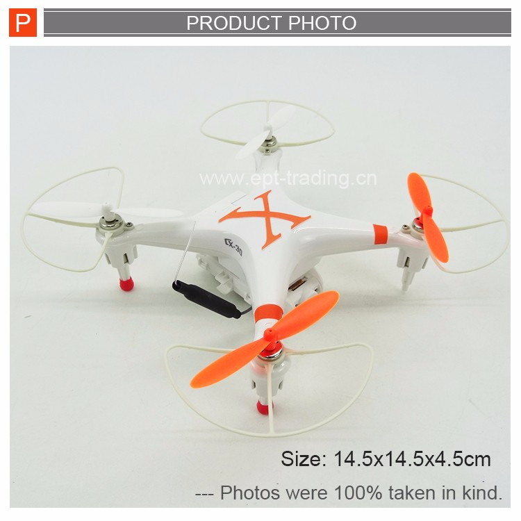 CX30W MiniDrone 2.4G RC drone FPV iphone control with Camera in-built RC WIFI Quadcopter 6-axis