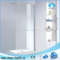 Cost of WALK IN NO DOOR shower doors