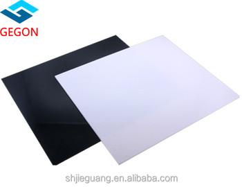 High Gloss White Acrylic Sheet/board/panel/12mm Acrylic Sheet/acrylic Sheet  Scratch Resistant - Buy Acrylic Black White Sheet,Milky White Acrylic