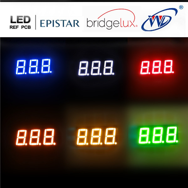 3 cifre 7 segmenti led 0.25 0.28 0.36 0.4 0.52 0.56 0.8 pollice display