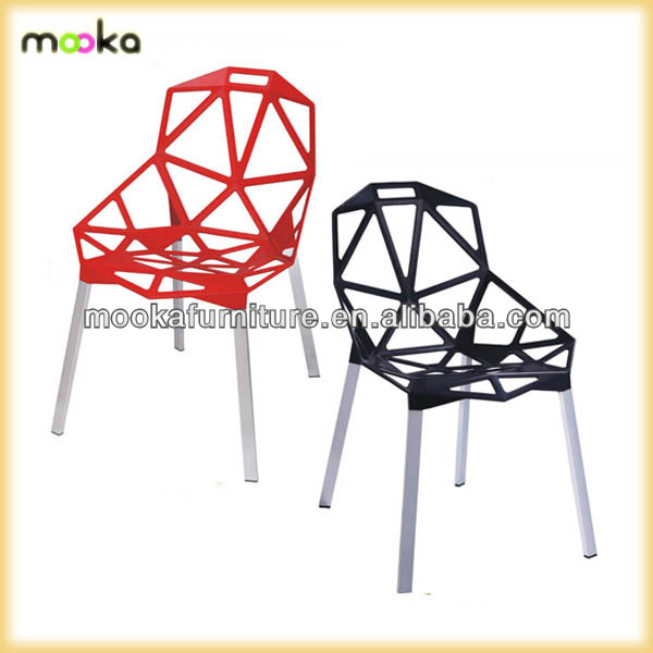 Aluminum French Cafe Chairs Metal Chair Konstantin Grcic Magis Chair One    Buy Replica Magis Chair One,Chair One,Konstantin Grcic Chair One Product On  ...