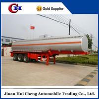 2016 China manufacture 3 axle 45000L oil fuel tank semi trailer