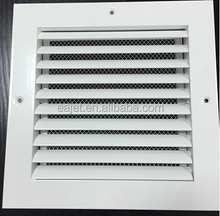 DDRR double deflection rectangular door grille and register, round for hvac system