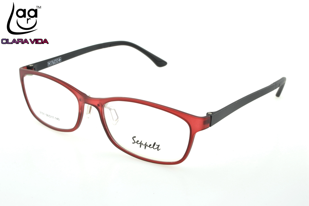 4ec68389c0 ONLY 7G Large Red TR Ultra Light Memory Nerd Glasses Frame Custom Made  Optical Prescription myopia