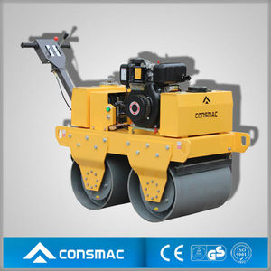 walk behind double drum vibrator roller bomag with high perormance