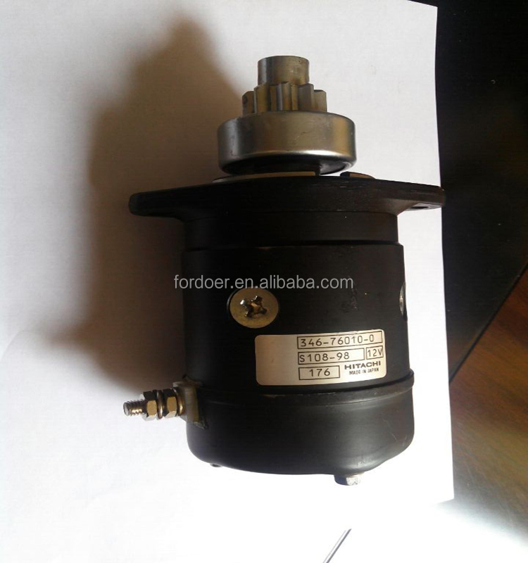 High quality auto starter motor HITACHI S108-98
