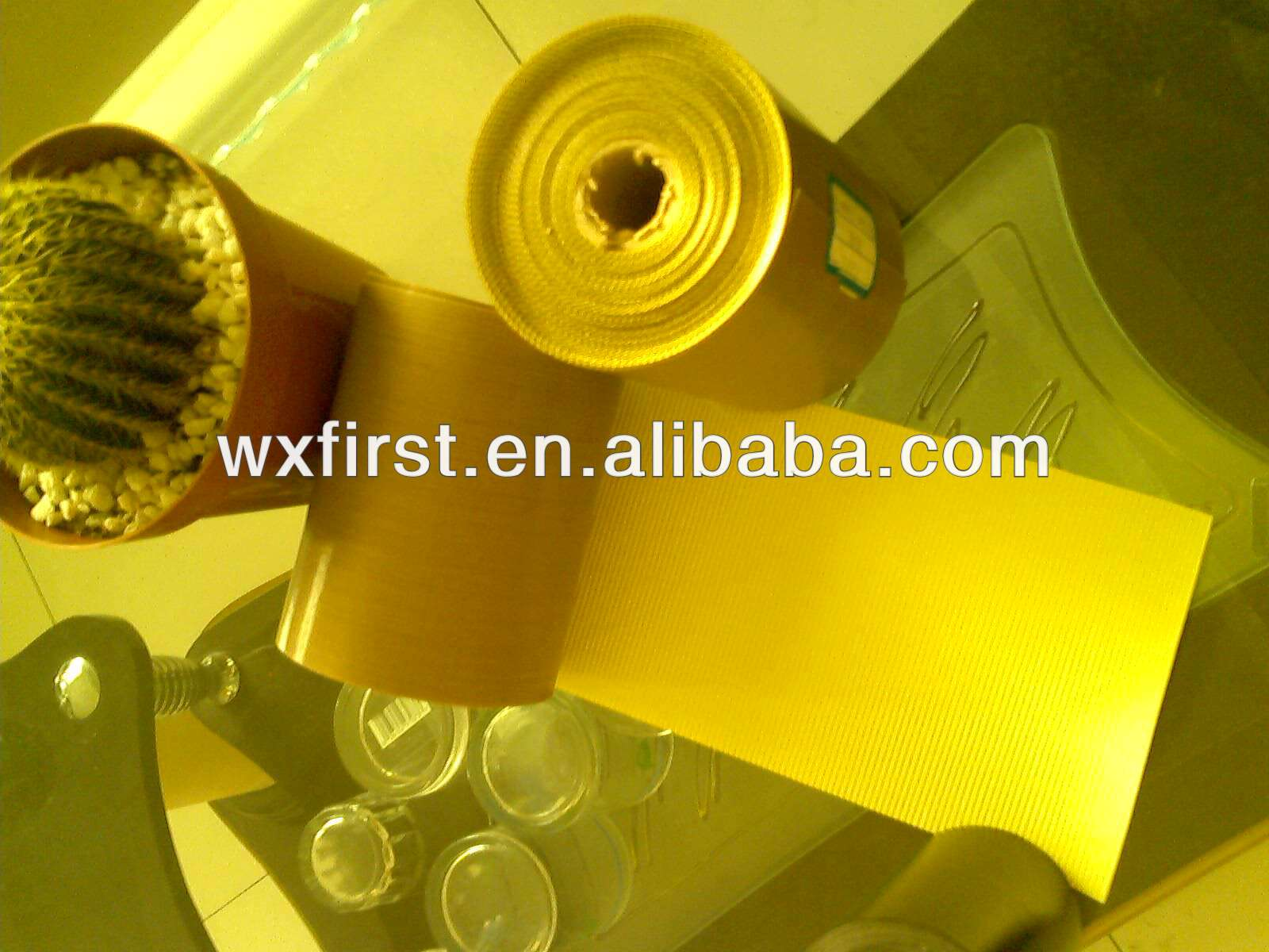 ptfe coated fiberglass adhesive etched tape