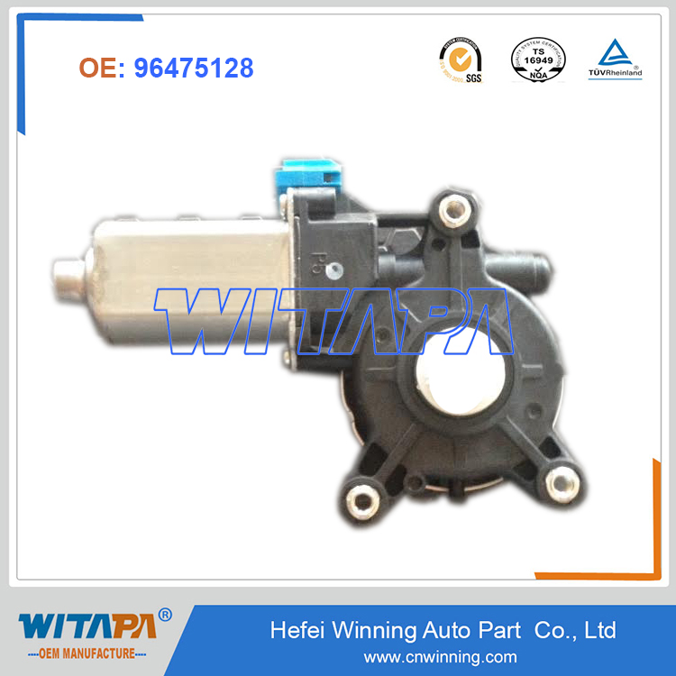 Manufacture 96475128 GM Deawoo Chevrolet Optra Car Spare parts window regulator Motor