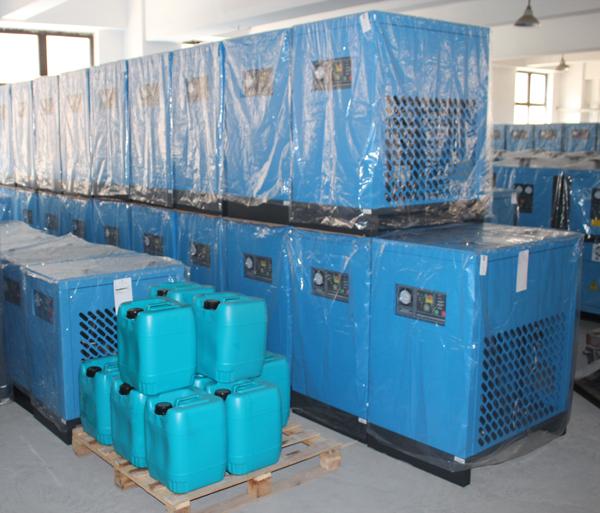Freeze droger machines voor perslucht