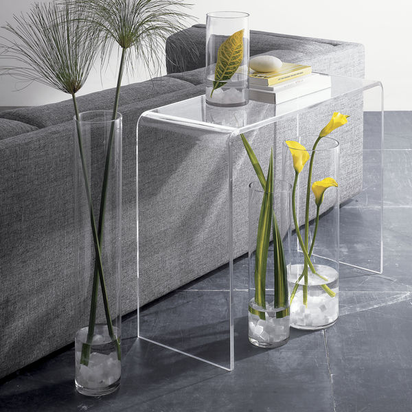 Lovely Clear Acrylic Console Table, Clear Acrylic Console Table Suppliers And  Manufacturers At Alibaba.com Part 6