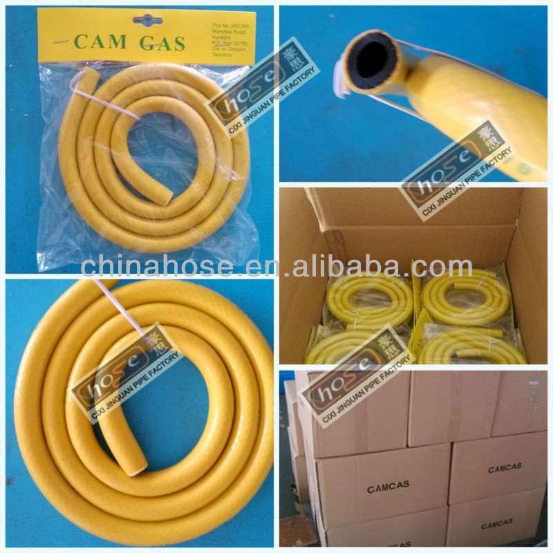 5/16-inch 8mm Oem/odm Pvc Liquid Yellow Color Natural Gas Yellow ...