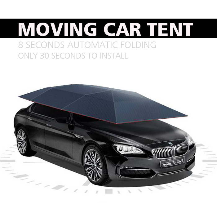 New original automatic folding structure automatic moving car tent ,fiberglass car roof top tent