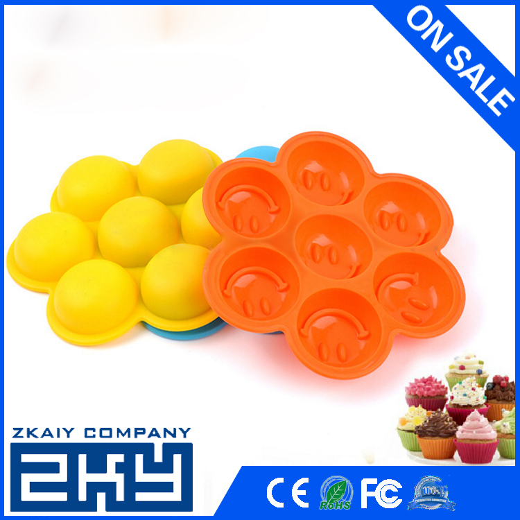 ZKY - Smile Mold Silicone Candy Molds for Home Baking - Reusable DIY Baking Molds for Candy, Chocolate