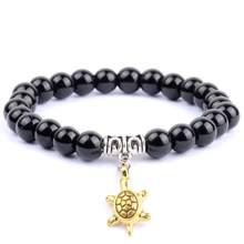 Минималистичные мужские браслеты с бусинами натуральный камень Лабрадорит Бусы Бохо животное очарование браслеты для женщин ювелирный по...(Китай)