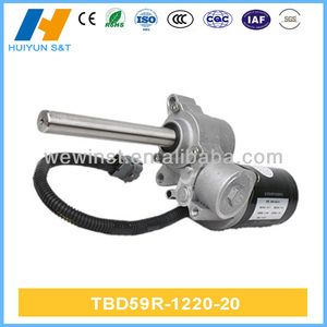 DC Double Worm Gear Motor