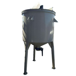 Powder mixing tank