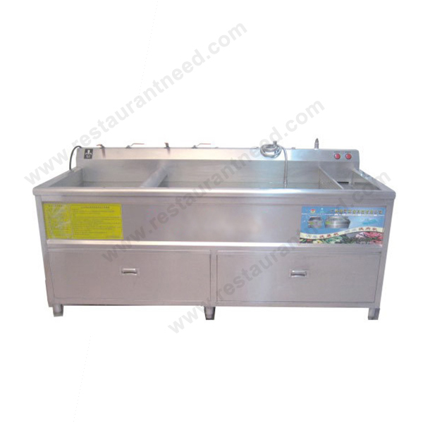 Kitchen Equipment Single Tank Commercial Used Vegetable Washer