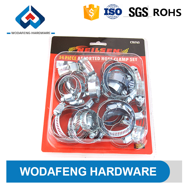 taiwan blister packing hydraulic hose clamp