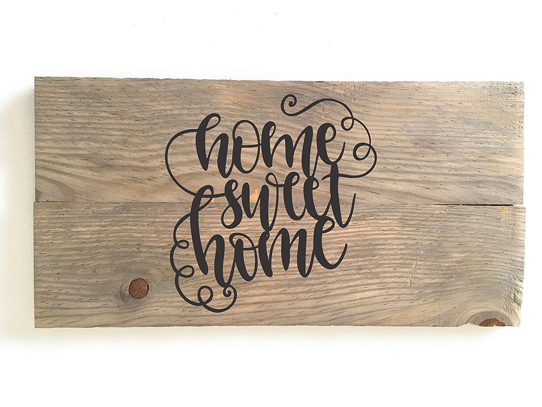 3a687de700f Get Quotations · HOME SWEET HOME