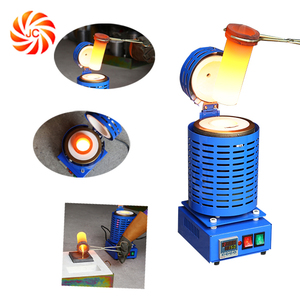 220V 3kg Digital Melting Furnace Kiln for Refining Gold Silver Alloy