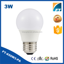 3w Christmas light bulb pattern dimmable led ic driver e26 small electric bulb