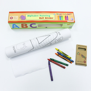 Great Explorations Educational Products Drawing Paper Coloring Roll Kid Toy On Sale