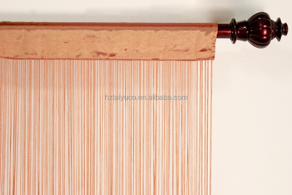 Hot sale in American fashionable style hanging fringe string curtain