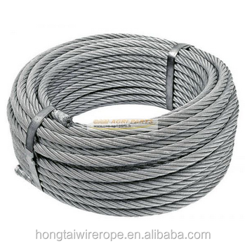 316 Stainless Steel Wire Rope In Rigging Products 7x19 1.5mm-30mm ...