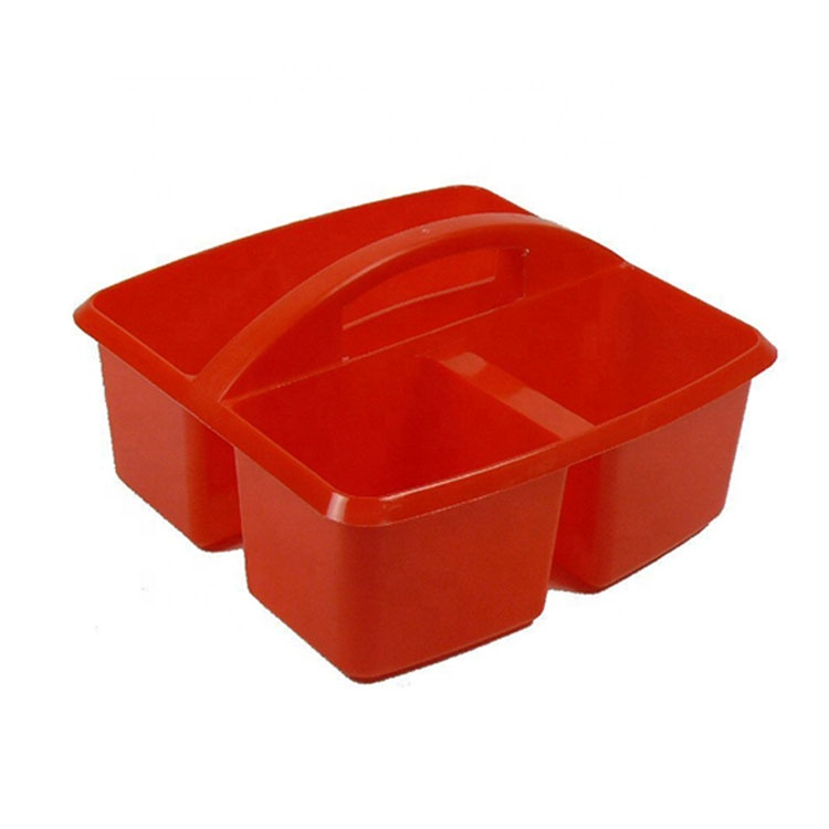 ESD Small Plastic Rectangle Utility Cleaning Storage Caddy
