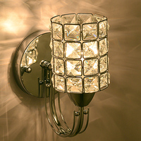 Wall Lamp Modern Art Deco Crystal Wall Sconces With 1 Light