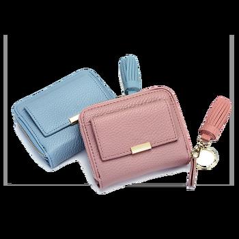 Fancy Women Ladies Short Pu Leather Wallet Lady Purse - Buy Women ... 4224f36ca9b0d