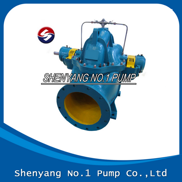 Single Stage Double Suction Axially Split Casing Pump Centrifugal Pump For Field Irrigation