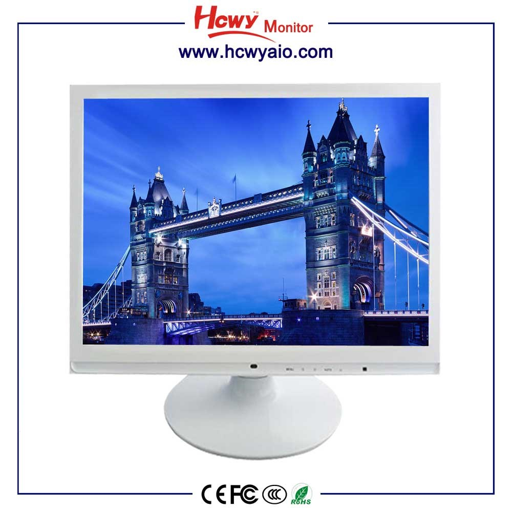 Good Price White Housing medical metal case 19 inch 4:3TFT lcd led monitor