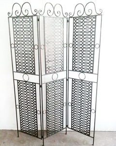 Wrought Iron Privacy Screen