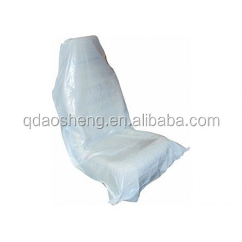 Hdpe Ldpe Disposable Plastic Car Seat Cover