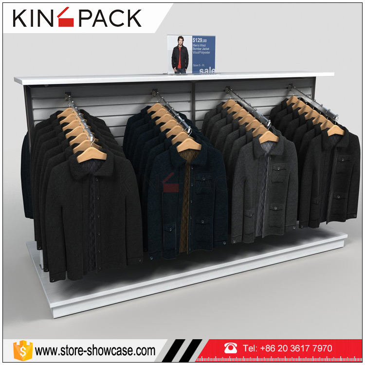 High quality hanger clothes display racks stand for clothing <strong>retail</strong> displays and fixtures for sale