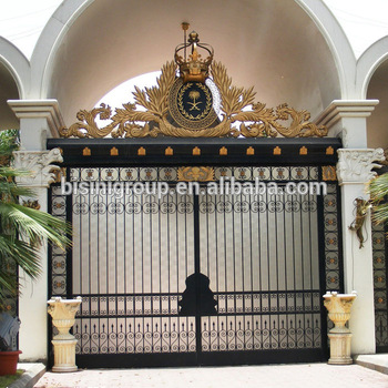 Bisini Main Iron Gatemain Gate Design Home