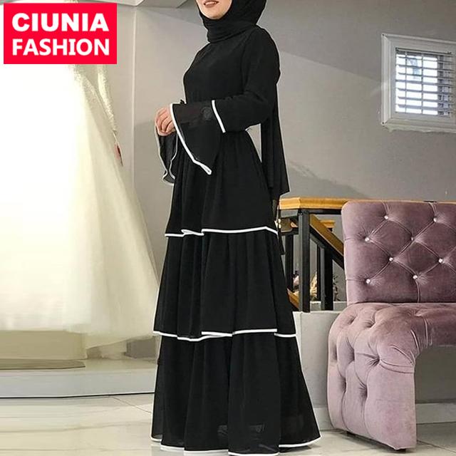 6183# long sleeve maxi fashion kitenge designs ladies turkey dresses kaftan for women latest design muslim dress фото
