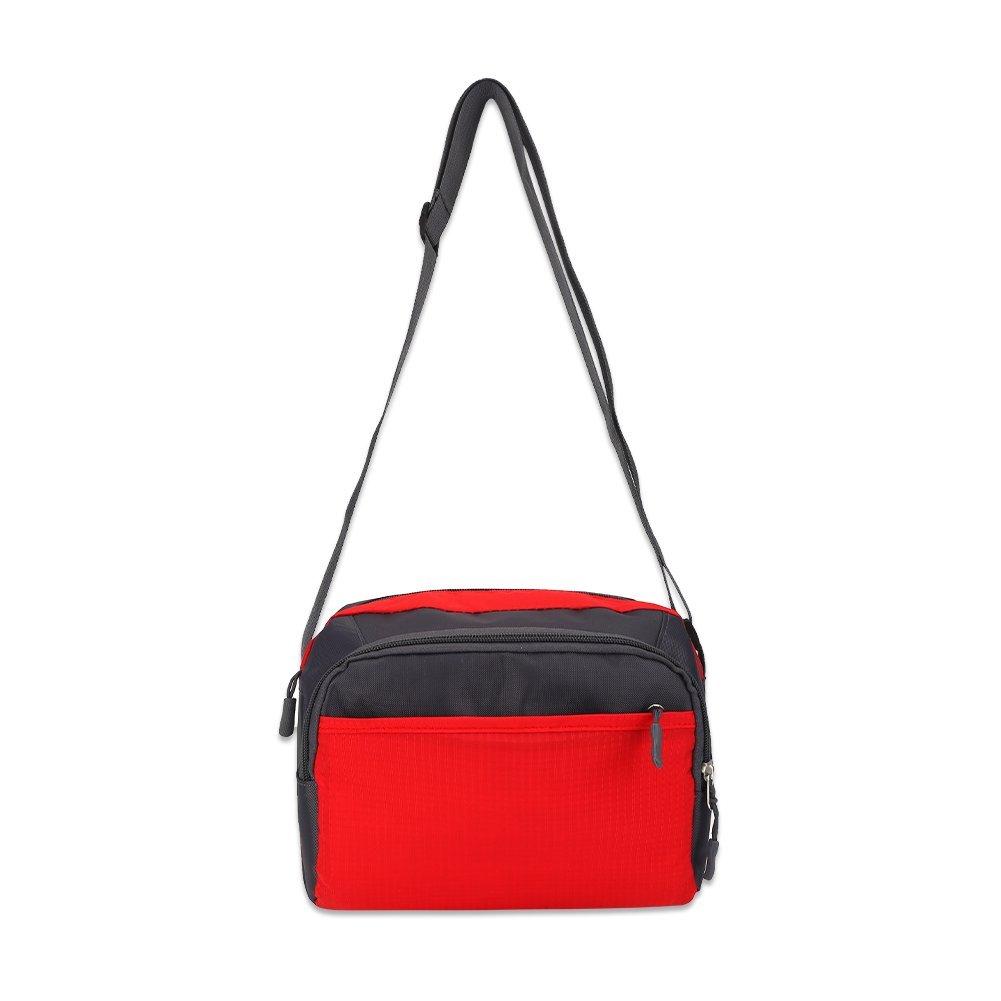 Unisex Nylon Messenger Bags Crossbody Shoulder Bags Casual Travel Handbag Fashionable Nylon Handbag Pack Single Shoulder Bag Sling Backpack for Outdoor Travel Sports