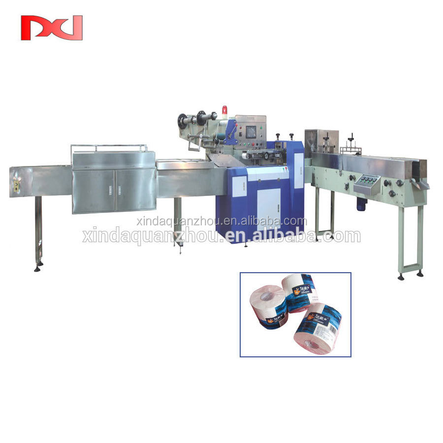 Single Roll Toilet Paper Packing Machine