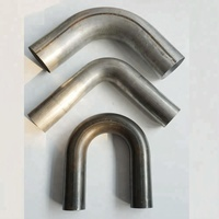 OEM Stainless steel mandrel bends Aluminum mandrel bends Titanium elbow Galvanized pipe bends
