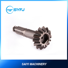 Metal Material High precision Bevel Gear Spline Shaft Z=14