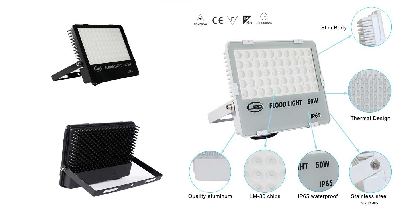 SUPER Bright waterproof modular outdoor led flood light 200 watt